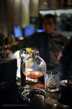 Bourbon en sifón