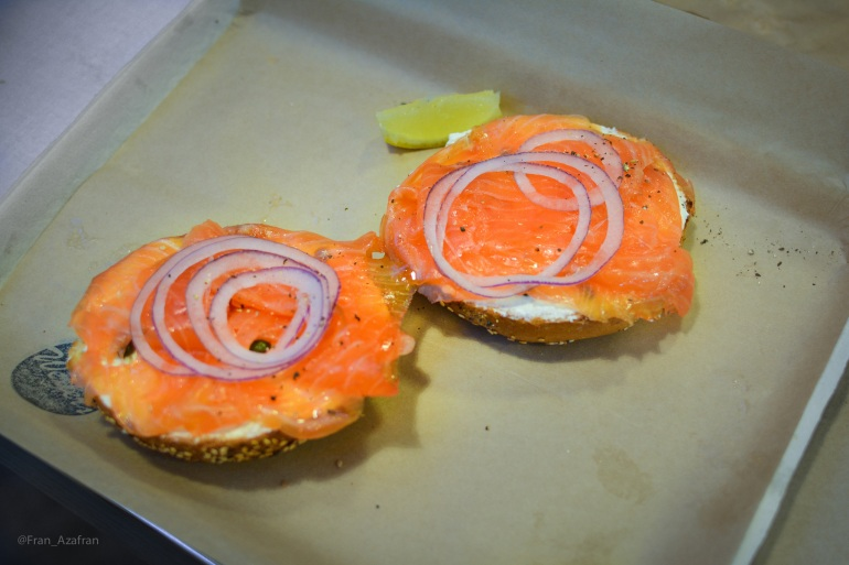 Bagel, Lox, Cream Cheese