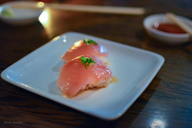 Albacore Belly Nigiri Sushi